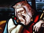 Vitrail Roi David