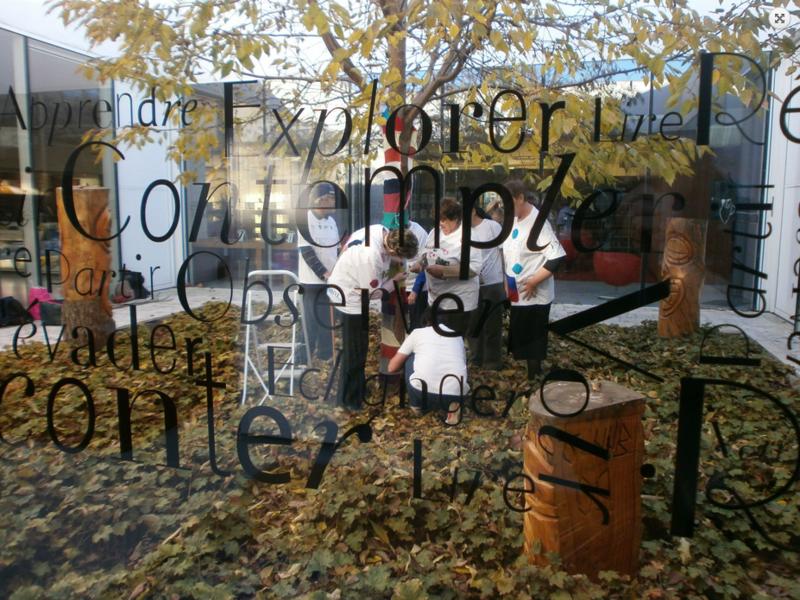Yarn Bombing au Bois Fleuri 1