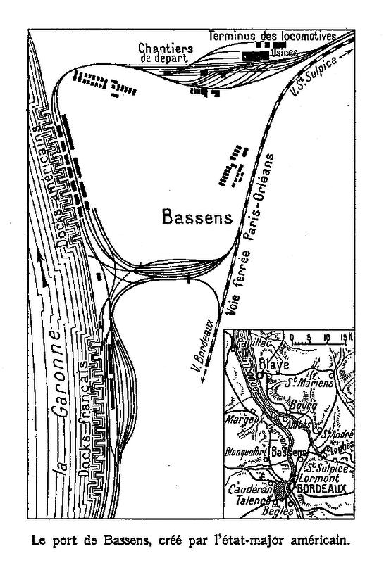 Le port de Bassens cr par l