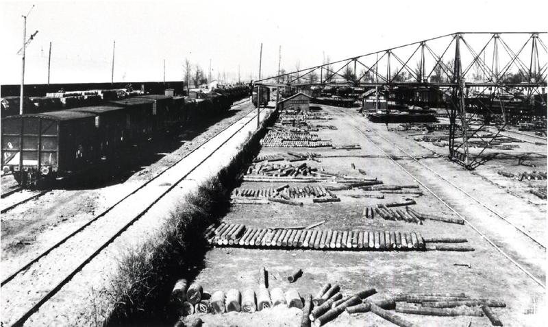 Le port de Bassens en construction