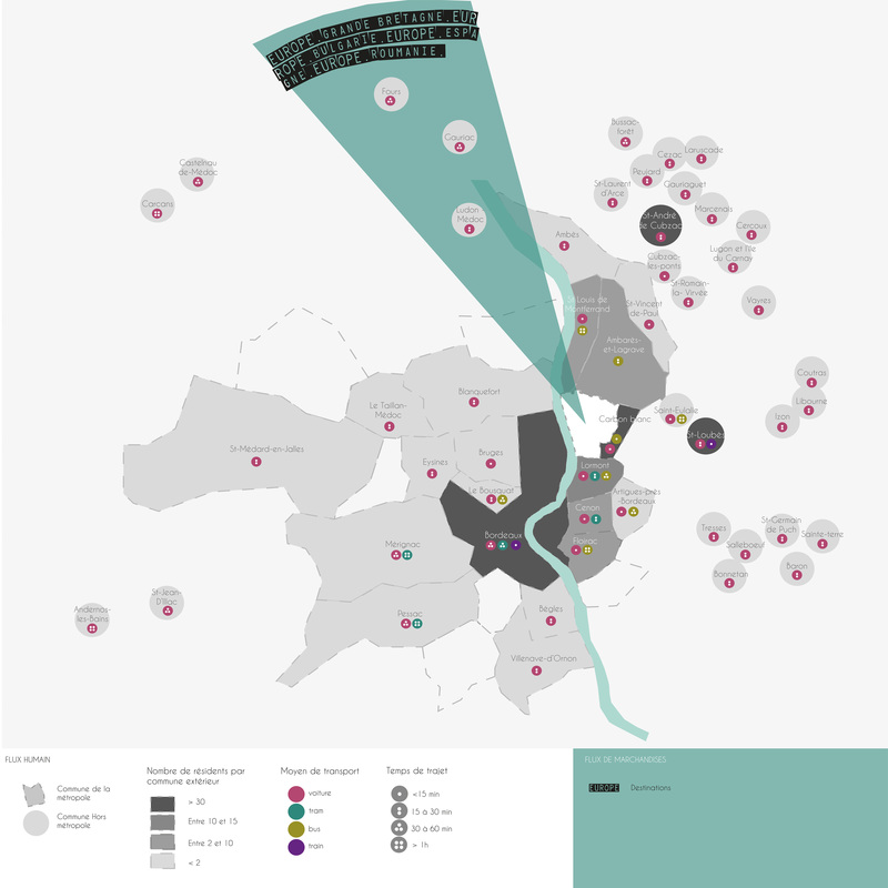 Carte des mobilits Bassens  Gironde