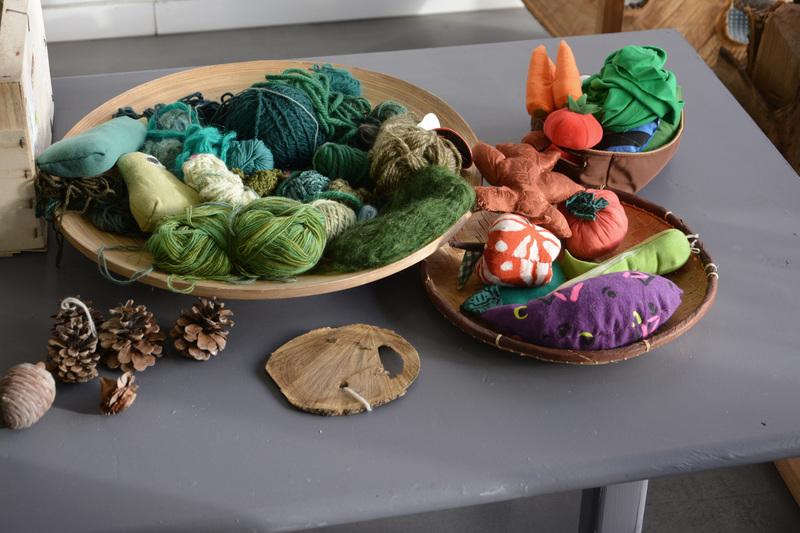 Panier de laine