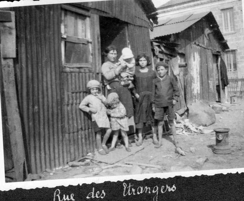 Rue des Etrangers Floirac annes 30